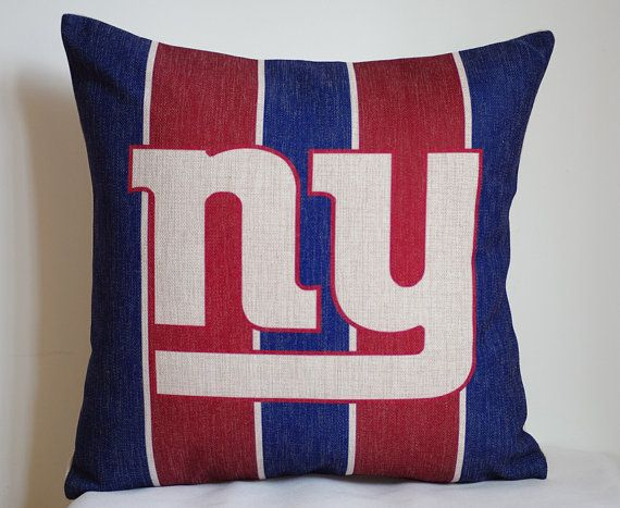 Hey, I found this really awesome Etsy listing at https://www.etsy.com/listing/200892100/nfl-new-york-giants-pillow-new-york