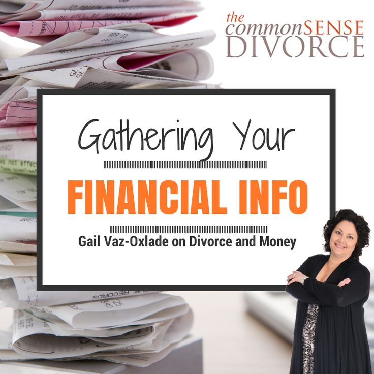 If you and your spouse are considering divorce or you are in the beginning stages of your separation process, then it's time to start collecting your financial information.