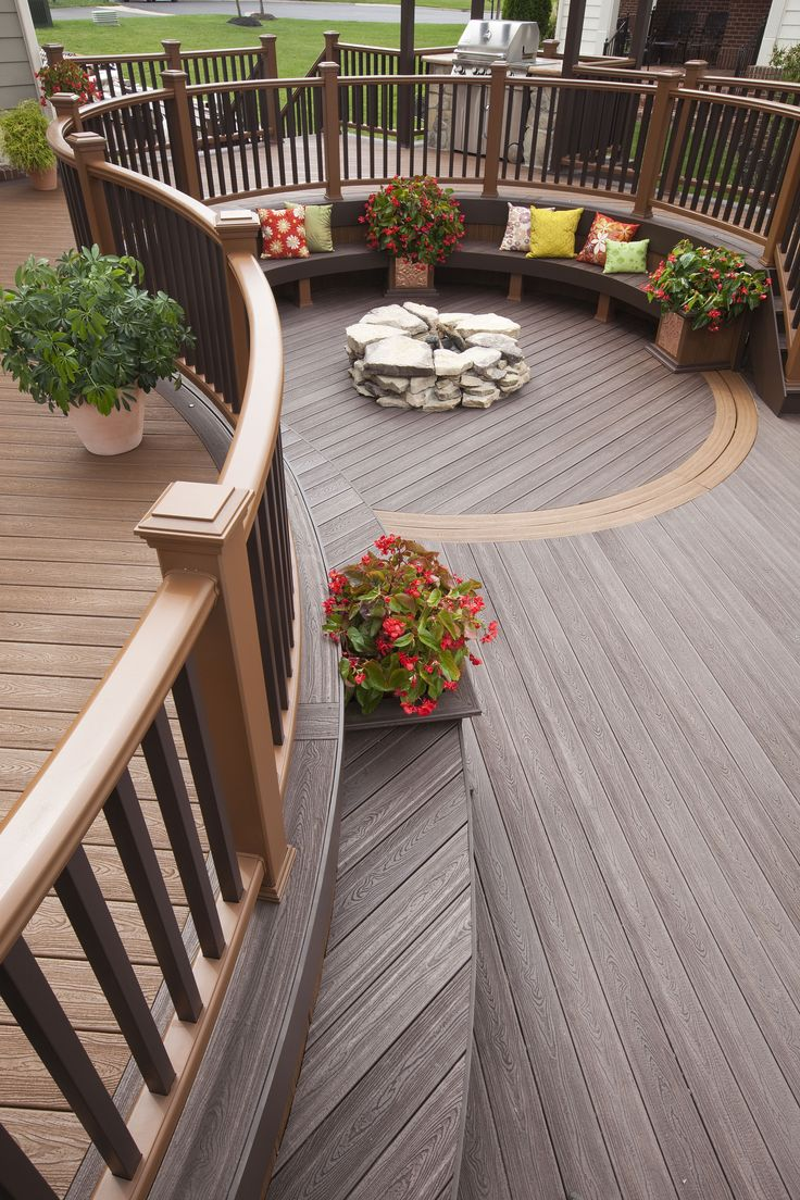 see how trex composite decking outshines other materials at trex - Trex Deck Design Ideas