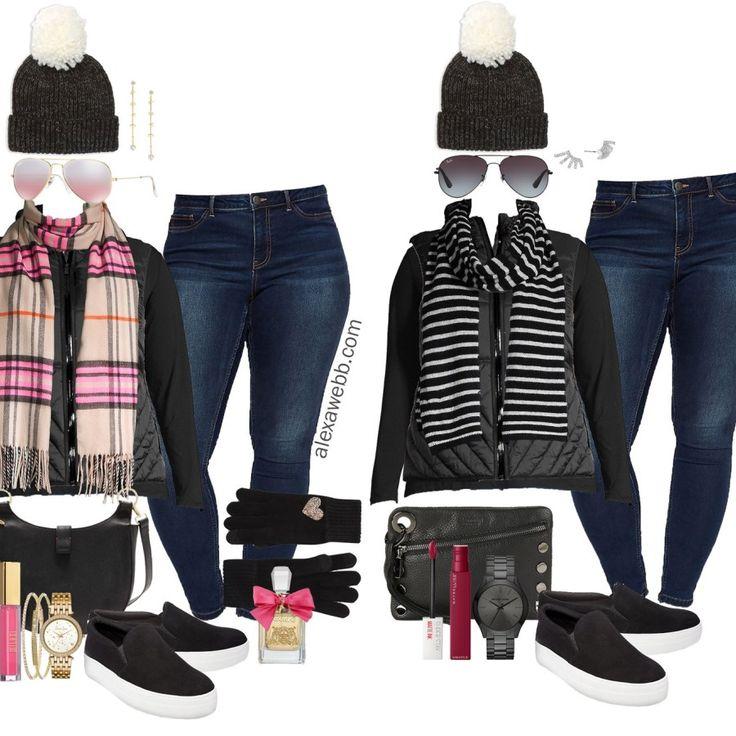 Plus Size Black Vest Outfit Ideas