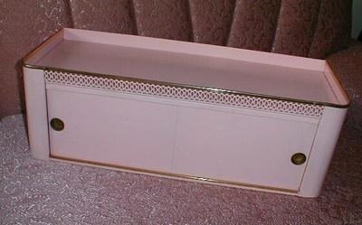Vintage Horizontal Medicine Cabinet Midcentury Modern Chic Shabby Bathroom | eBay
