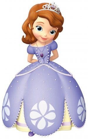 Focus on Sofia's dress for a purple piñata cake, fondant covered, with cake pops on top for height