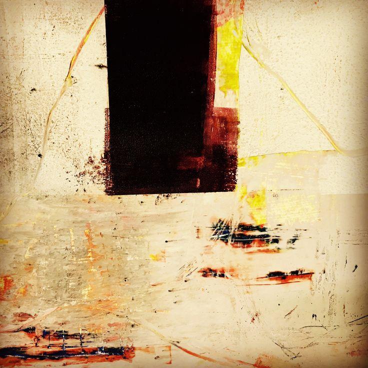 Cold wax play at the Yellow Brick Studio