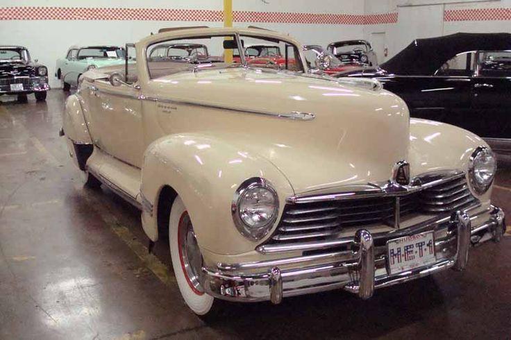 1946 Hudson Super Six Convertible Coupe *dies*