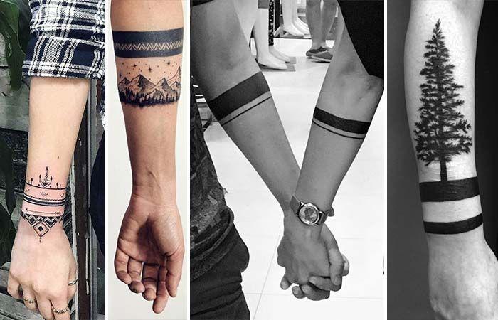 Son zamanlarda popülerliğini arttıran en güzel kol bandı dövme modelleri.