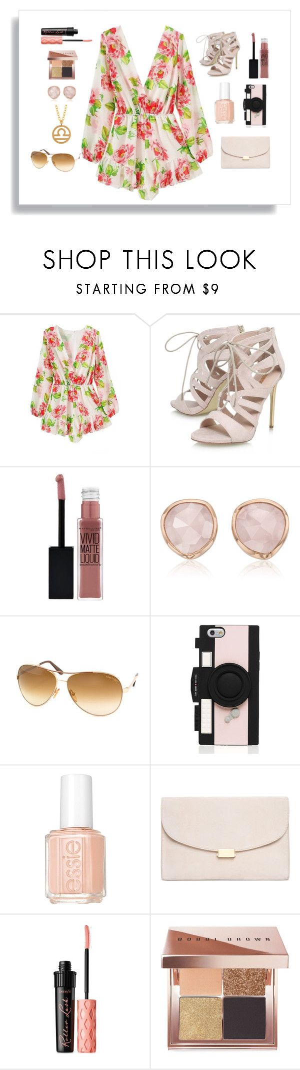"""Libra Birthday Outfit"" by janisan0310 ❤ liked on Polyvore featuring Carvela, Maybelline, Monica Vinader, Tom Ford, Kate Spade, Essie, Mansur Gavriel, Benefit, Bobbi Brown Cosmetics and Kris Nations"