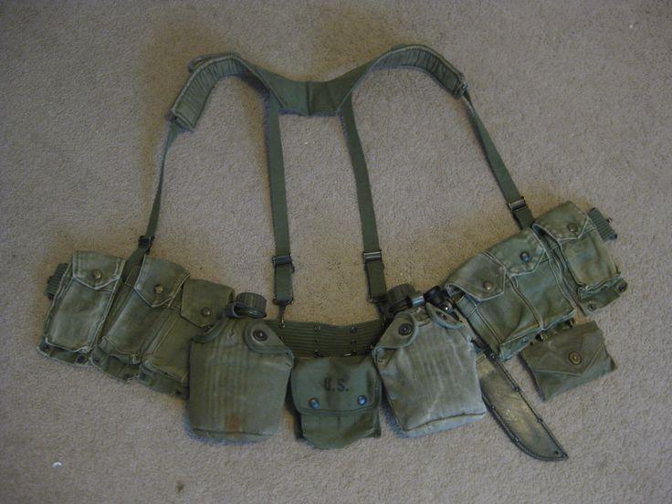 Usmc M 1961 Tactical Gear Army Infantry Battle Belt