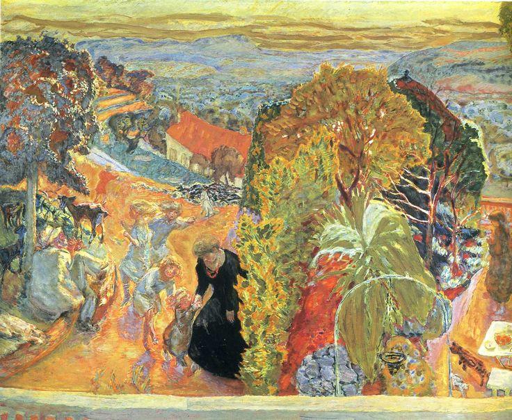 Pierre Bonnard - In Summer, 1931, oil on canvas