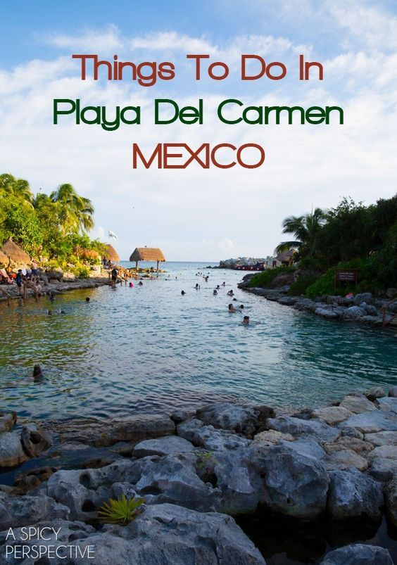 Amazing Things To Do In Playa Del Carmen Mexico #travel #mexico