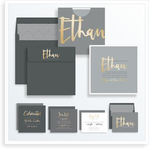 5401-1-BAR-MITZVAH-INVITATIONS — Bar Mitzvah Invitations & Bat Mitzvah Invitations by Sarah Schwartz Co.