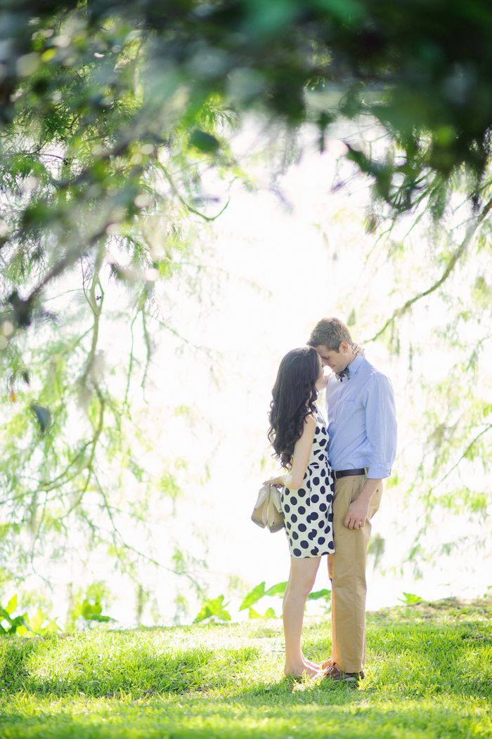 Modern Vintage Summer Engagement Session in Orlando | Images by Best Photography