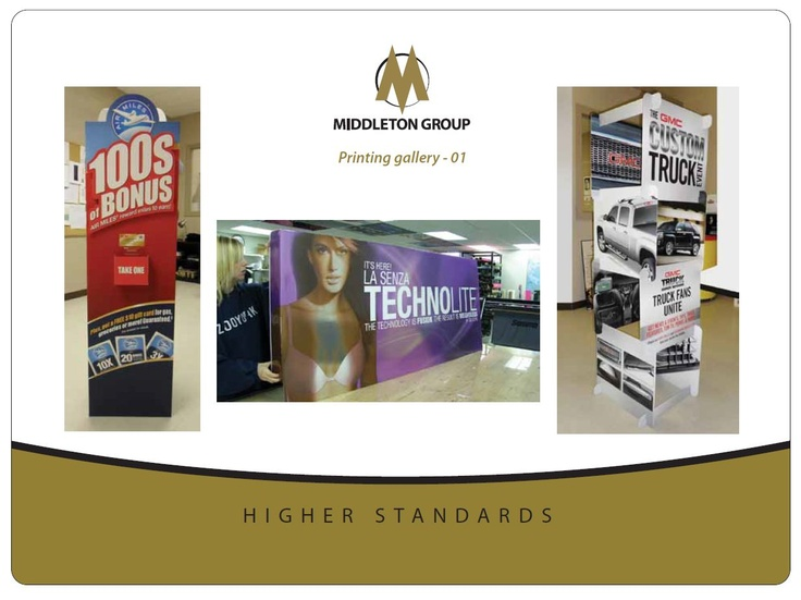 Commercial Printing Services Portfolio Examples