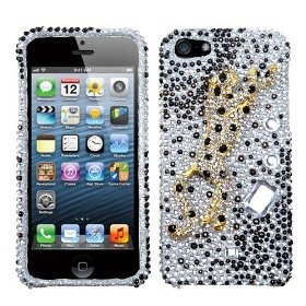 MYBAT Sprinting Cheetah Premium 3D Diamante Protector Cover ( with Package ) for APPLE iPhone 5 $18.00 while supplies last!