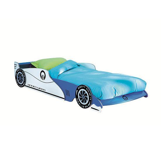 lit enfant voiture grand prix bleu with lit voiture garcon ferrari. Black Bedroom Furniture Sets. Home Design Ideas