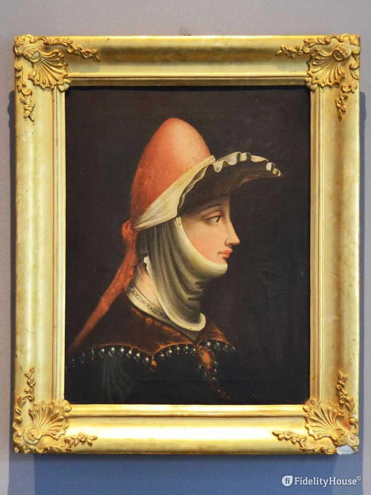 Il quadro che ritrae Matilde di Canossa, opera del Parmigianino. L'opera si trova al Museo Diocesano di Mantova.
