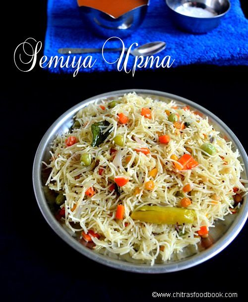 Vermicelli/Semiya upma recipe - Southindian breakfast recipe