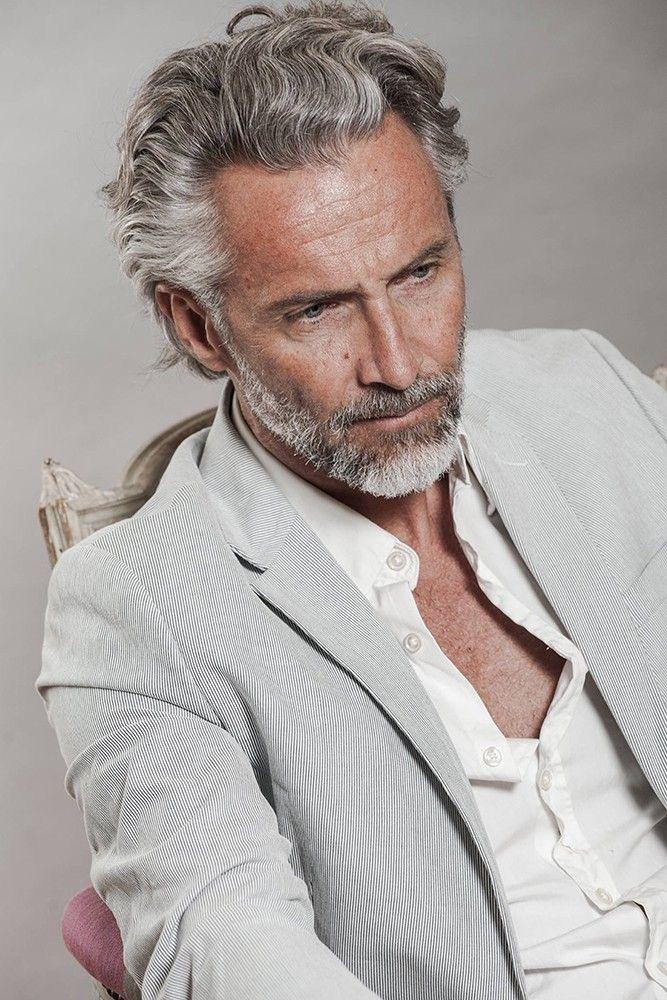 Pin By Tami Wycoff On Glorious Gray Grey Hair Men Older Mens Hairstyles Long Hair Styles Men