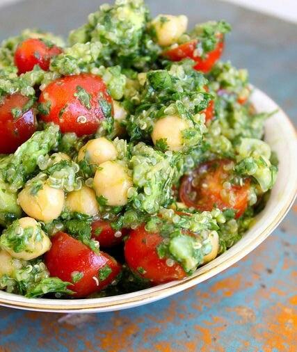 Quinoa  Cilantro   amp  Avocado SaladQuinoa Salad Cilantro