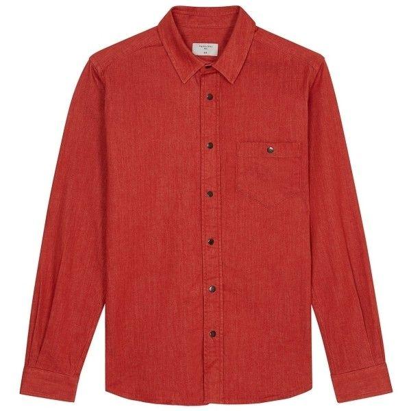 25  beste ideer om Denim Shirt Men som er populære på Pinterest nå ...