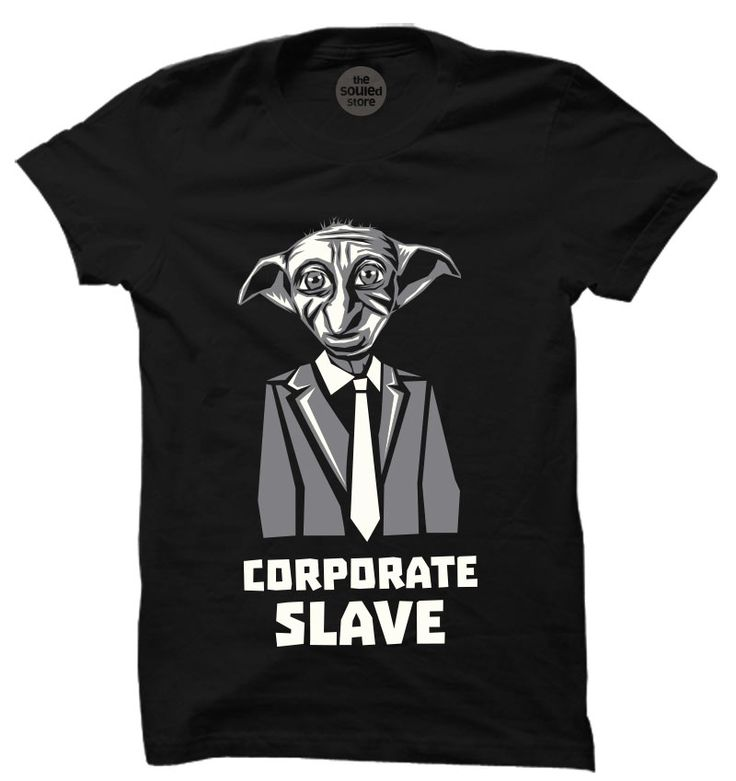Corporate Slave T-Shirt | Buy Movie T-Shirts Online | The Souled Store