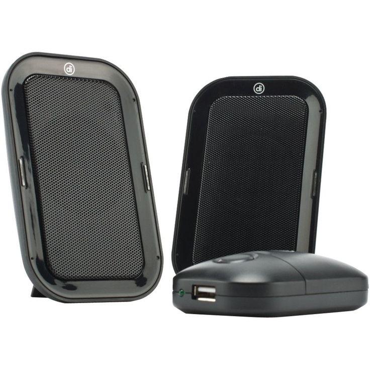 Digital Innovations Acoustix Portable Speaker System 2.0 Usb Travel Speakers