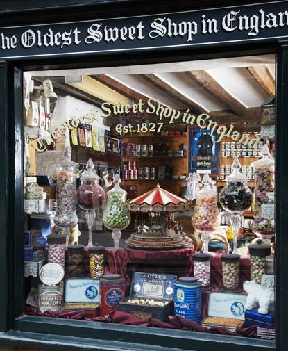 Oldest Sweet Shop in England, Yorkshire