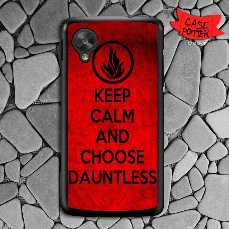 Keep Calm And Choose Dauntless Nexus 5 Black Case