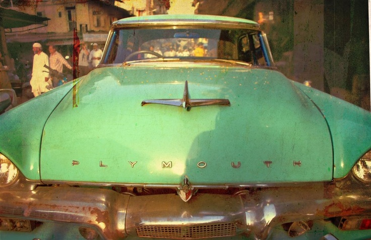 Mint green Plymouth: Bombay Thrift, Century Carriages, Bazaar Bombay, Indian Cars, Vintage Cars, Vintage Thrift, Dream Cars, Adorable Cars
