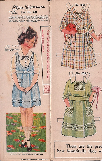Elsie Dinsmore 1 by Pennelainer, via Flickr * 1500 paper dolls at International Paper Doll Society by artist Arielle Gabriel ArtrA QuanYin5 Linked In QuanYin5 Twitter *