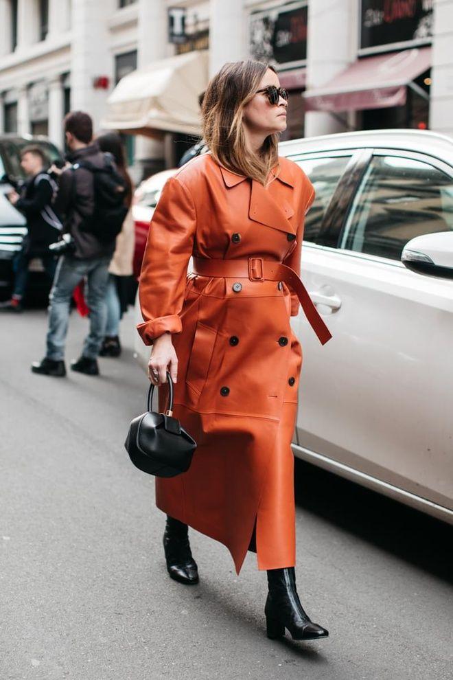Street style à la Fashion Week automne-hiver 2017-2018 de Milan