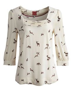BRONWYN Womens Blouse #joules  #Christmas  #wishlist