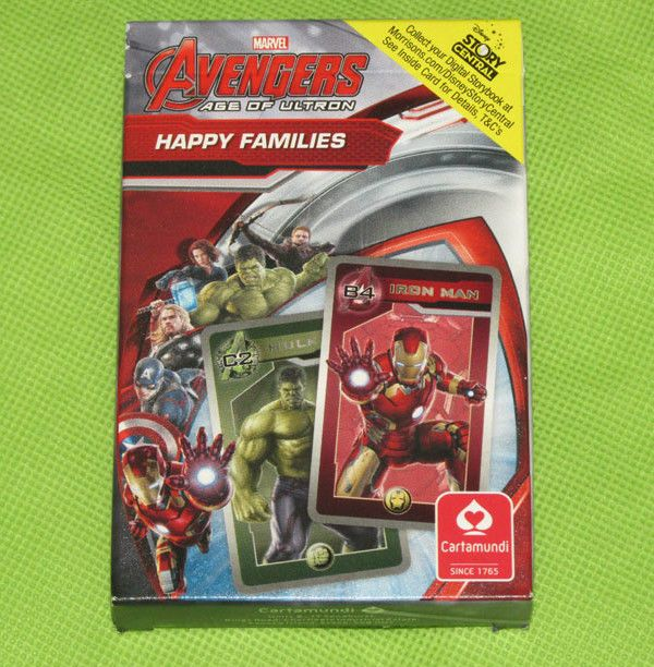 #Marvel #Avengers #AgeOfUltron Happy Families card game pack #ebay