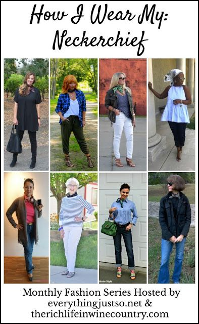 How I Wear My: Neckerchief