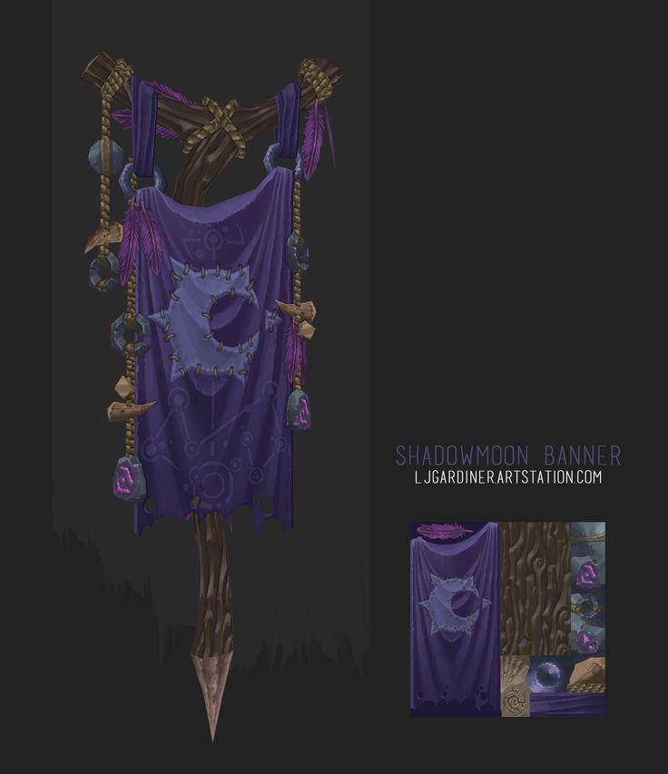 ArtStation - Shadowmoone Banner, Laurence Gardiner
