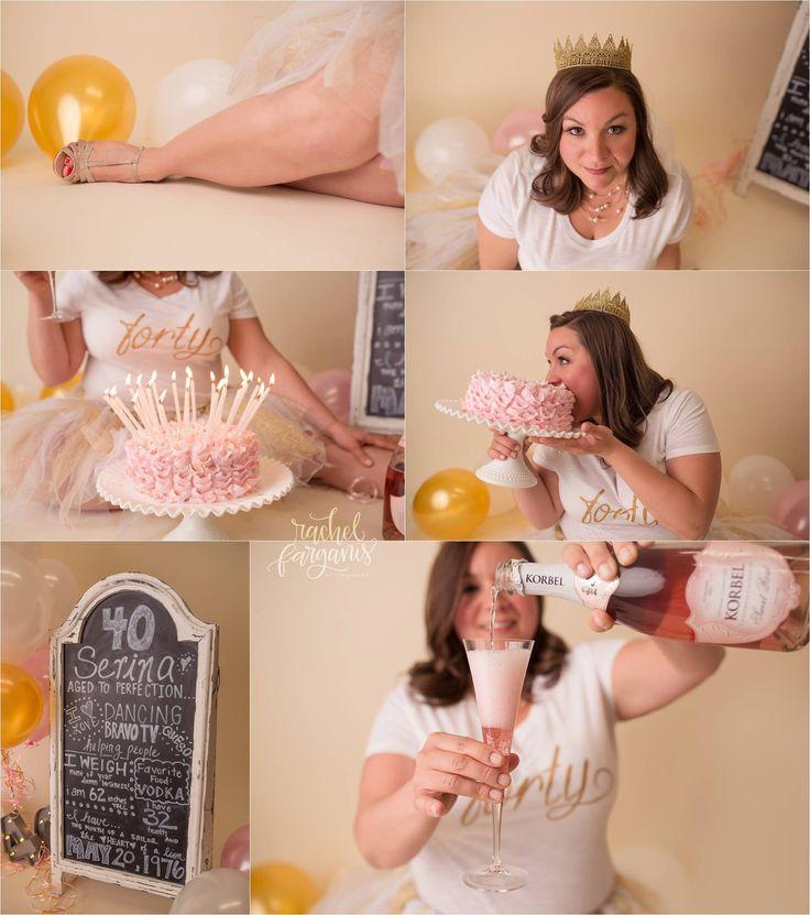 Adult Cake Smash Photo Shoot Better Than The Original