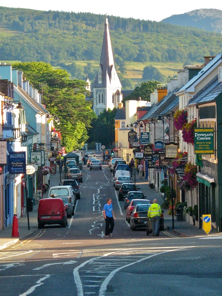 Kenmare, Ireland great place to shop and explore for the day..