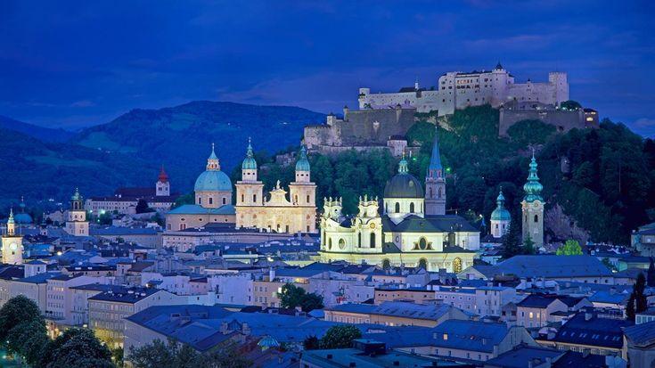 Today's Bing Image | Bing Images - Salzburg Austria - View of Salzburg, Austria (© Jon ...