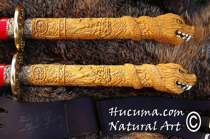 HUCUMA. artesanía en hueso y de diseño.: Tsukas talladas