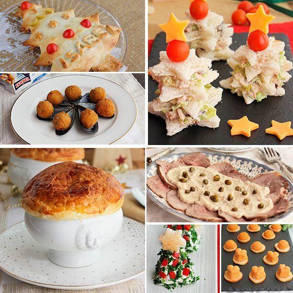 ideas de aperitivos y entrantes para el men navideo