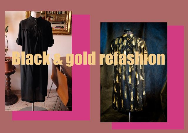 Black and Gold re-fashion