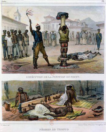 The Punishment Of Slaves by Jean Baptiste Debret (1768-1848, France)