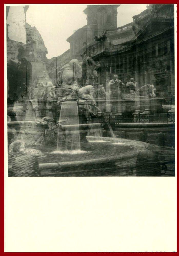 ROMA-FANTASIA ROMANA-BELLISSIMA VECCHIA FOTO D EPOCA/OLD PHOTO-ANNI 30 CIRCA
