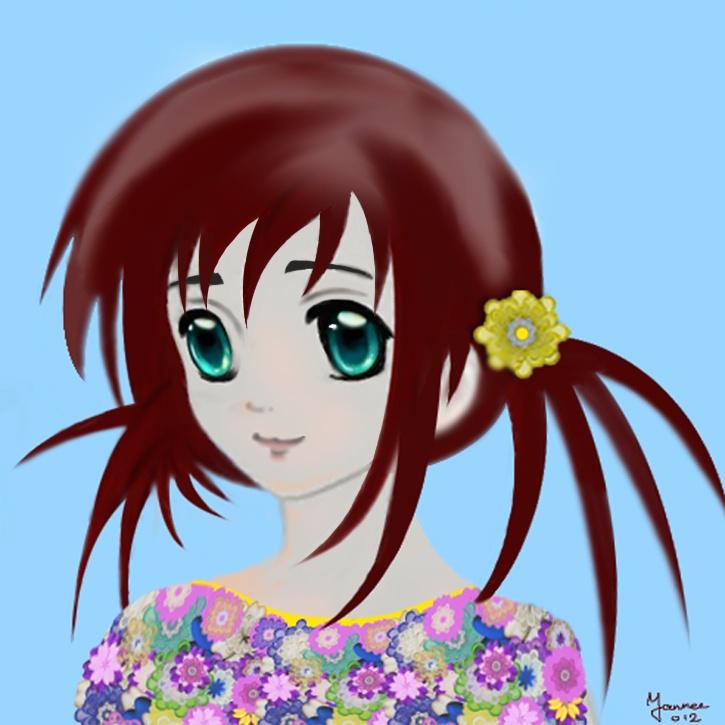 Bloemenmeisje