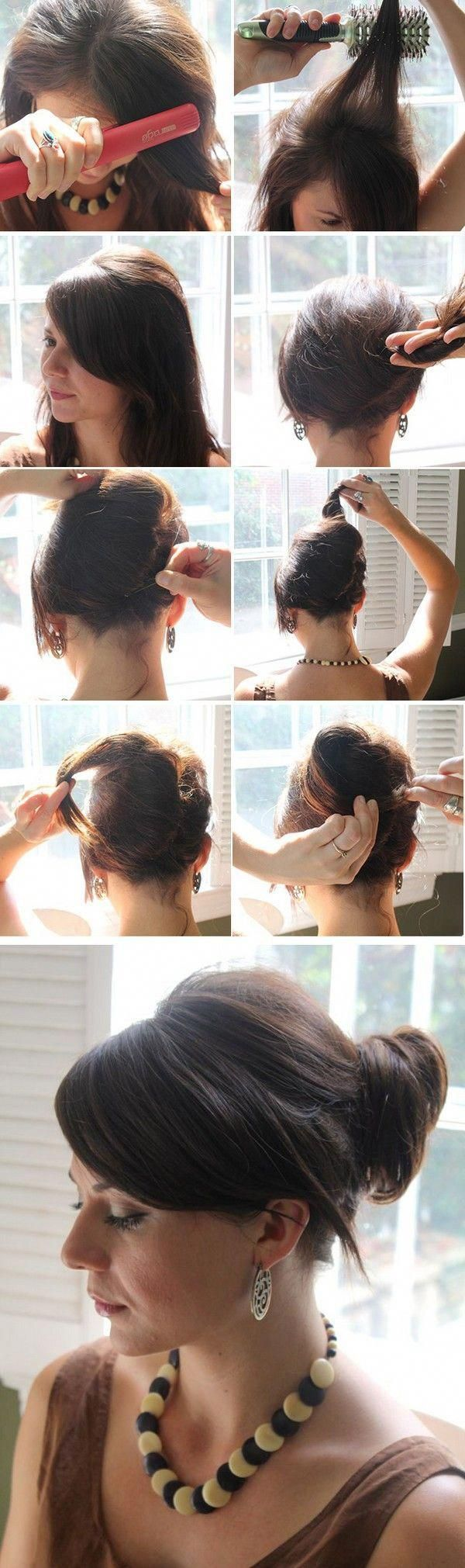 9 Splendid Simple Ideas: Bouffant Hairstyles Beehive everyday hairstyles lazy girl.Everyday Hairstyles Lazy Girl brunette hairstyles fashion.Messy Hai