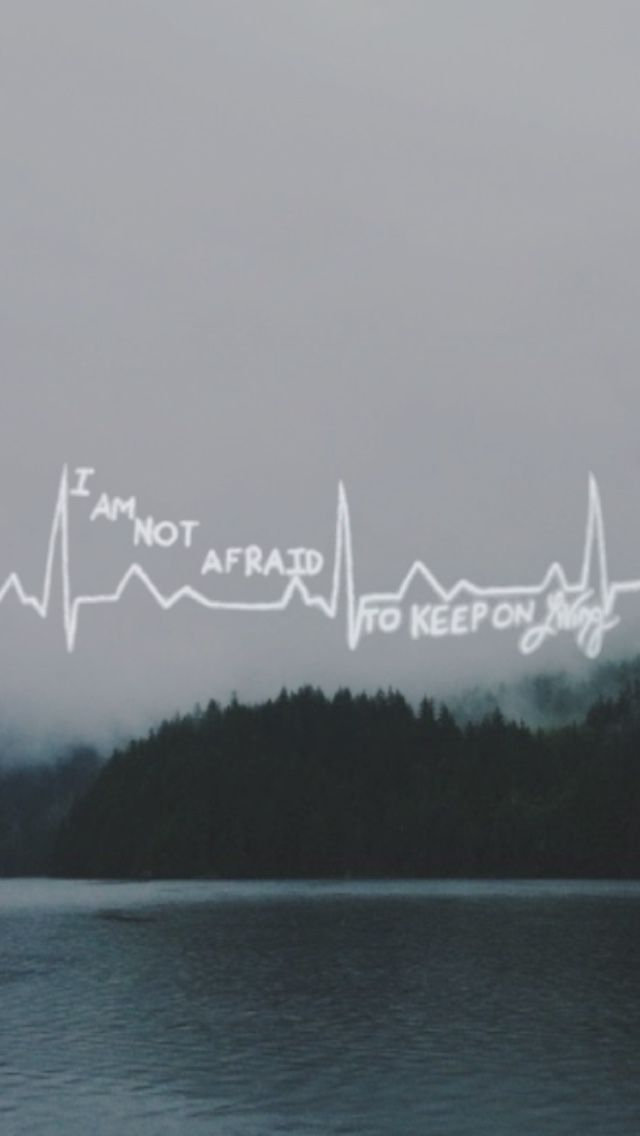 I am not afraid to walk this world alone