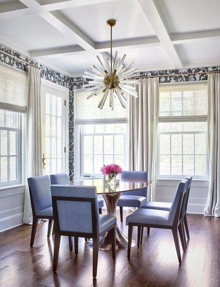 17 meilleures id es propos de rideaux de salle manger. Black Bedroom Furniture Sets. Home Design Ideas