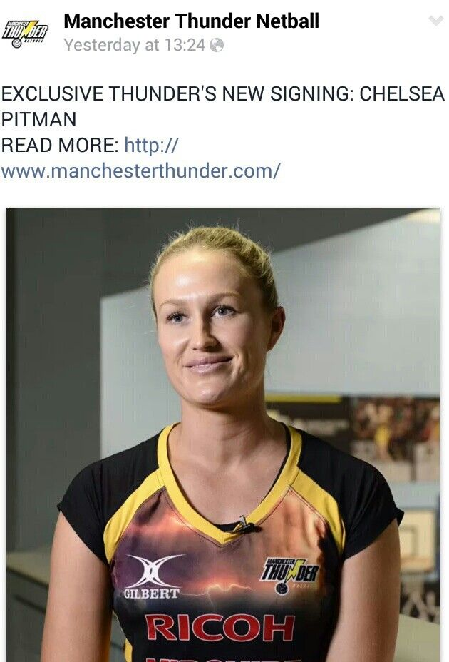 Chelsea Pitman moves to Manchester Thunder for 2015