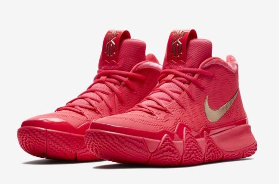 premium selection f5052 7d1bc The Nike Kyrie 4 Red Carpet Drops As A Surprise   Dr Wongs ...
