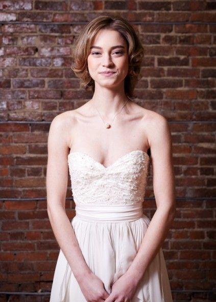 Custom dress from Ellebay Bridal Boutique