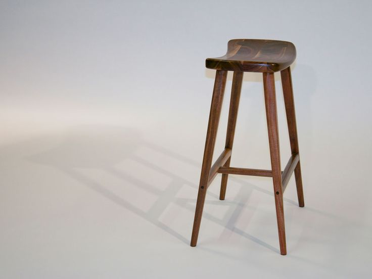 Wooden Saddle Seat Bar Stools Home Ideas